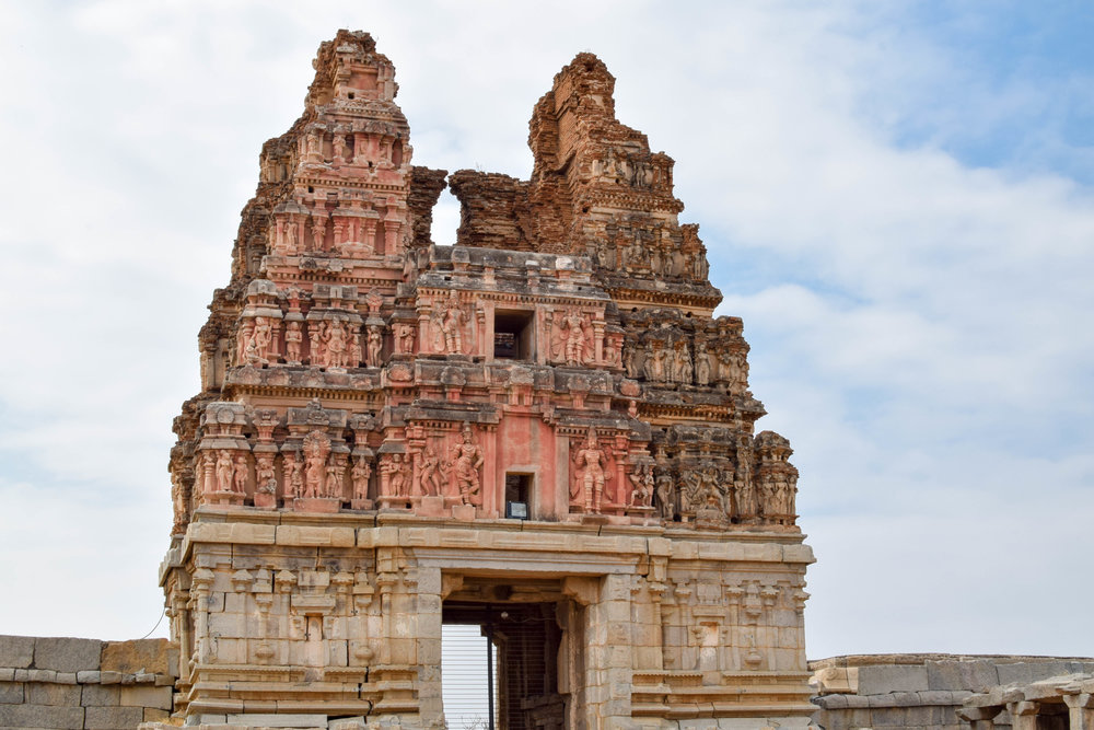 The entrance to Vittala Temple, just a taste of the awesomeness that awaits inside.