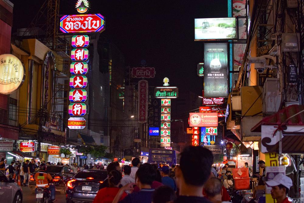 Yaowarat Road, home of the best food in BKK.
