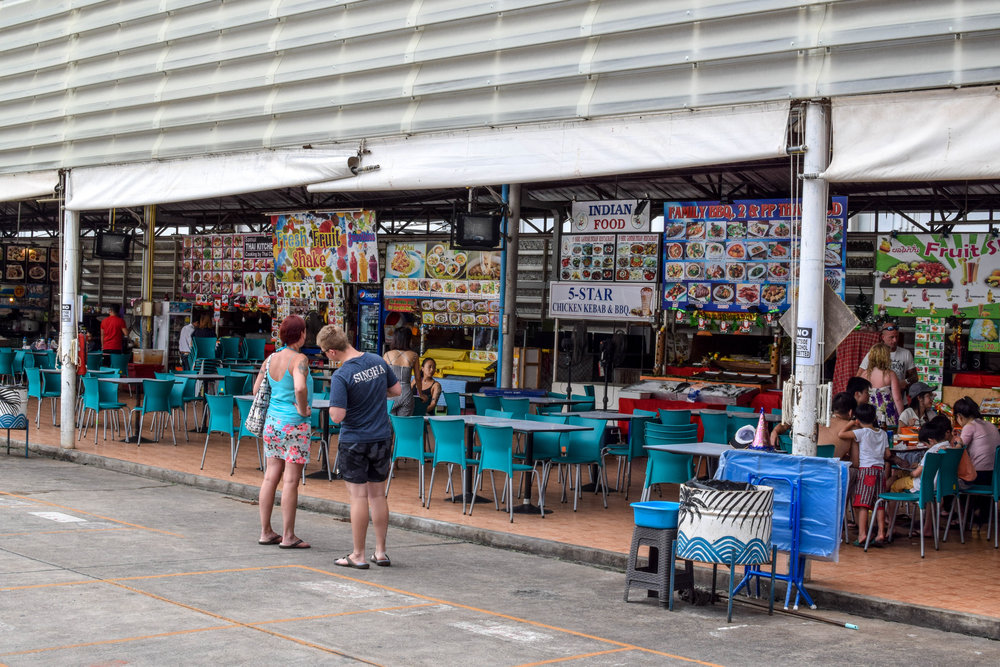 The Chaweng food court - pretty touristy, but still tasty and cheap.