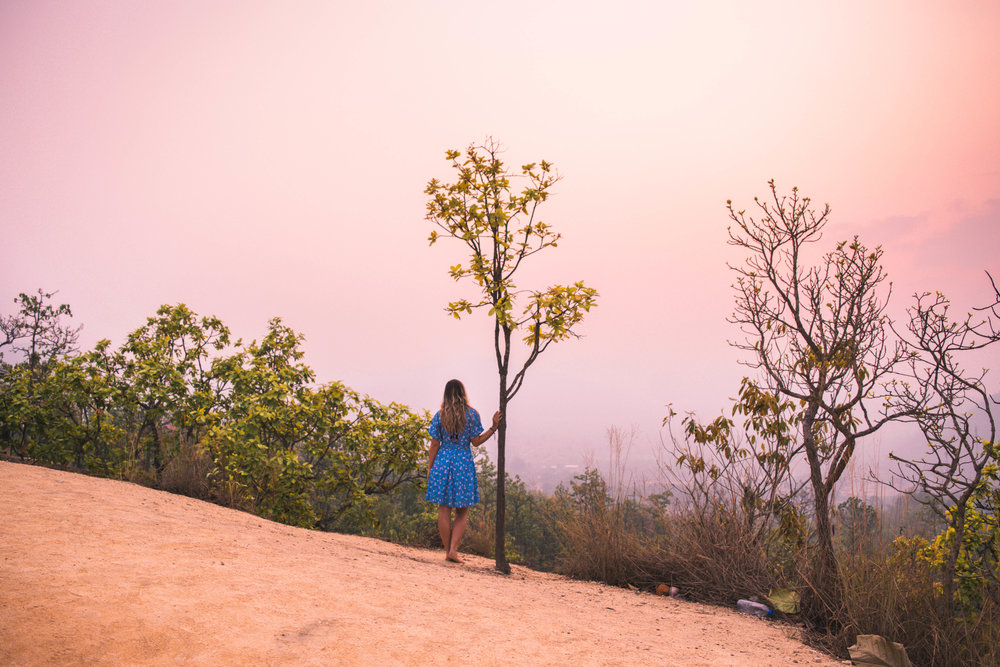 And it's more beautiful than you could imagine. (Sunrise @ Pai Canyon)