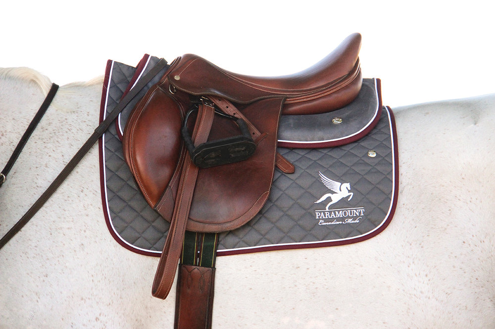 "Paramount Premiere Z Custom Jumping Saddle in Cognac Colour (""Kat"" - ""V.D.L. Princzess Katerina"")"
