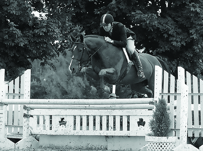 "John Banbury and ""Java"" at Caledon Equestrian Park"