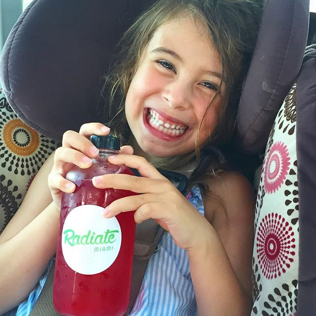 somebody's happy to have her #bucha for the day! #kombucha @radiatemiami #radiatehealth #radiatebeauty #radiatekombucha