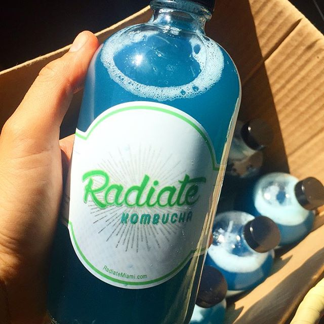 #mermaidmajik kinda day 🌊🌱☀️🙌🏾#radiate #radiatemiami #radiatehealth #radiatebeauty #radiatekitchen #radiatekombucha #kombucha #miami #wynwood #healthmiami #miamihealth #plantbased