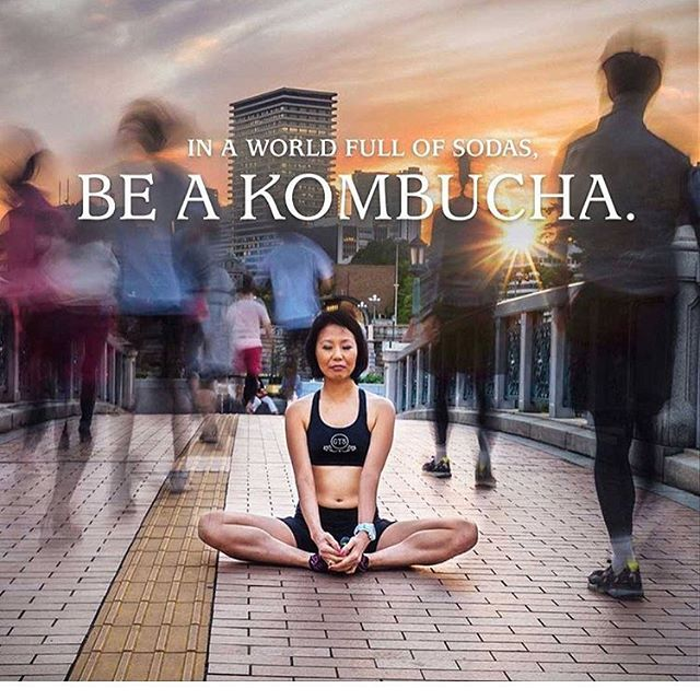 love this!! 🙏🏾huge #gratitude to @gtskombucha who popularized #bucha and made it mainstream 🌱☀️#radiate #radiate #radiatemiami #radiatebeauty #radiatekombucha #kombucha