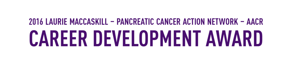 Laurie MacCaskill Receives PanCAN's First-Ever Career Development Award