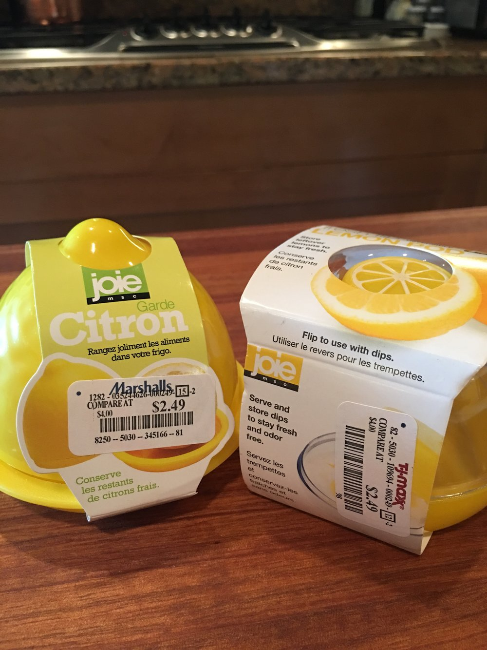 Lemon Pods are just $2.49 at Marshalls and TJ Maxx!