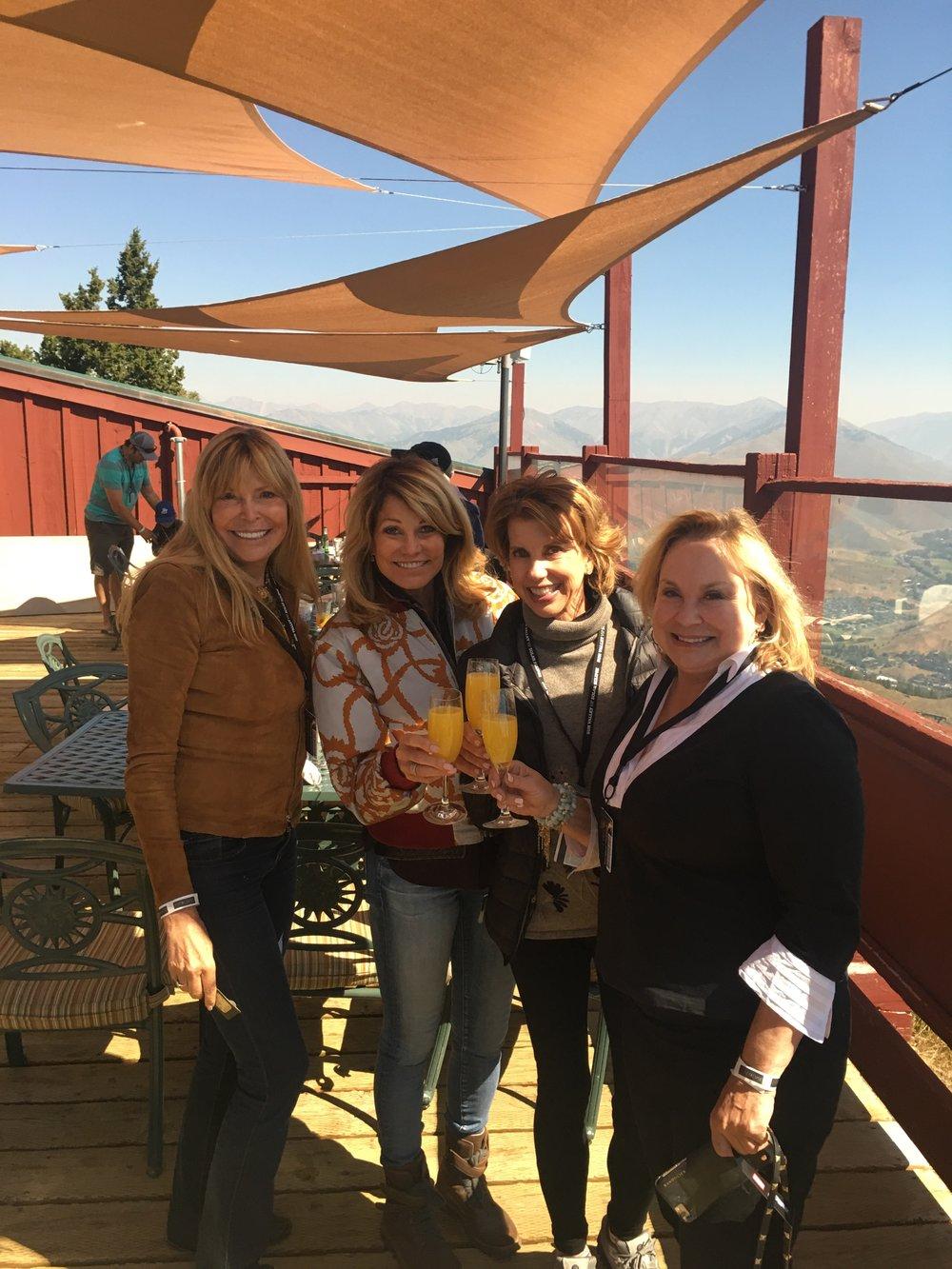 Linda Badell, me, Mary Heckmann, Deanna Melin.JPG