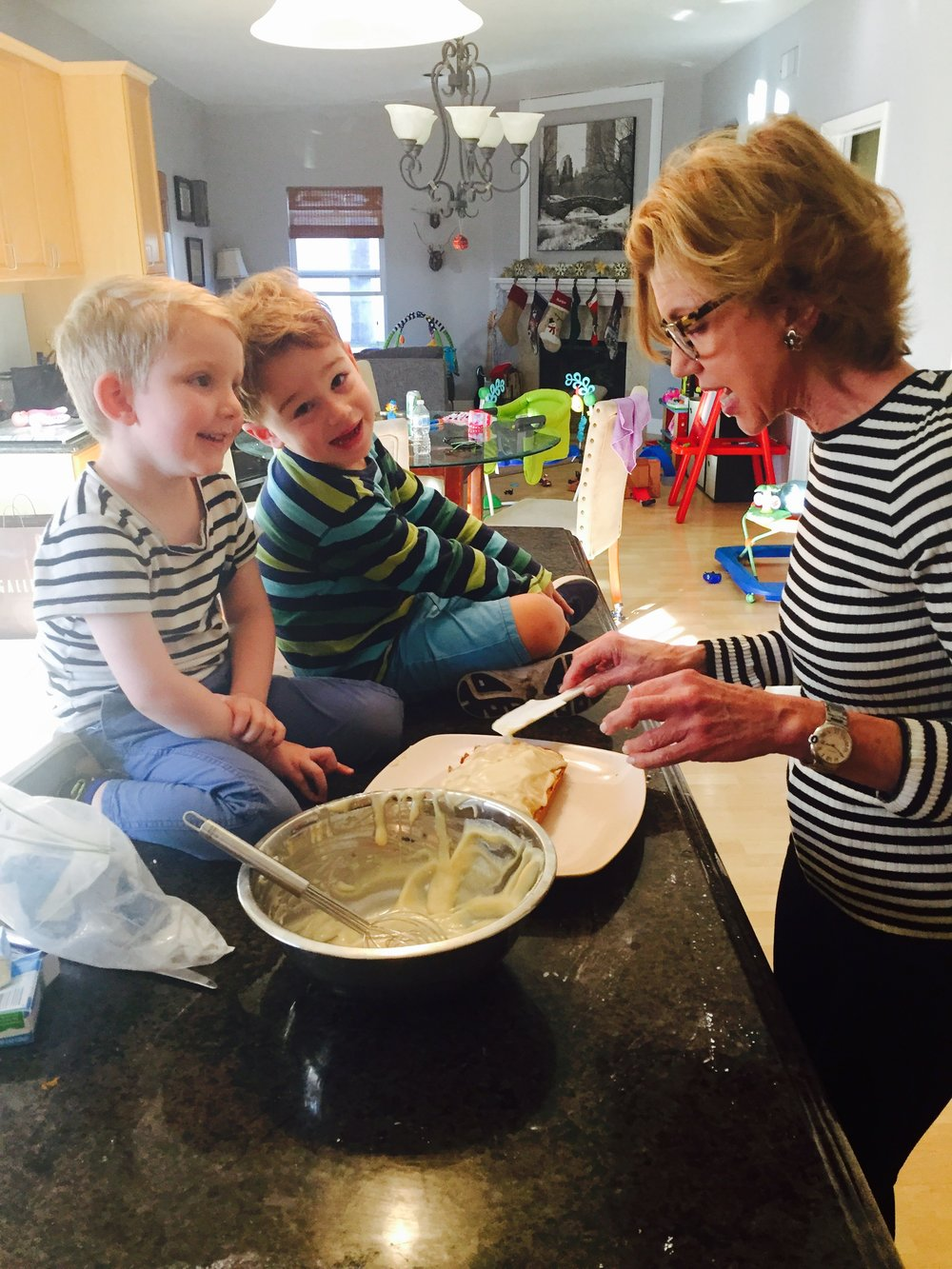 The best kind of love there is….my step grandsons! Max (3-1/2) and Ben (4)