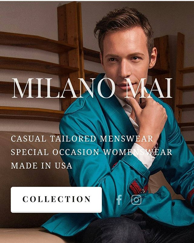 #milanomai #website will launch in 1 week.  We have been working non stop to create a website that is easy to navigate,  accessible, and simple.  #designer #menswear #fashiondesigner #squarespace