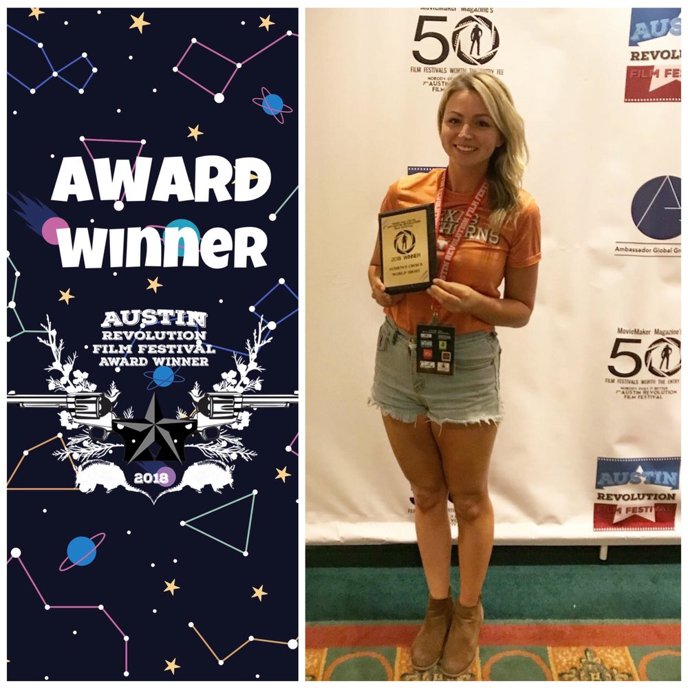 Cool Girls Wins Audience Choice: Best World Short - Cool Girls wins Audience Choice for Best International Short at the 2018 Austin Revolution Film Festival on September 22nd!Check out the full list of award winners here