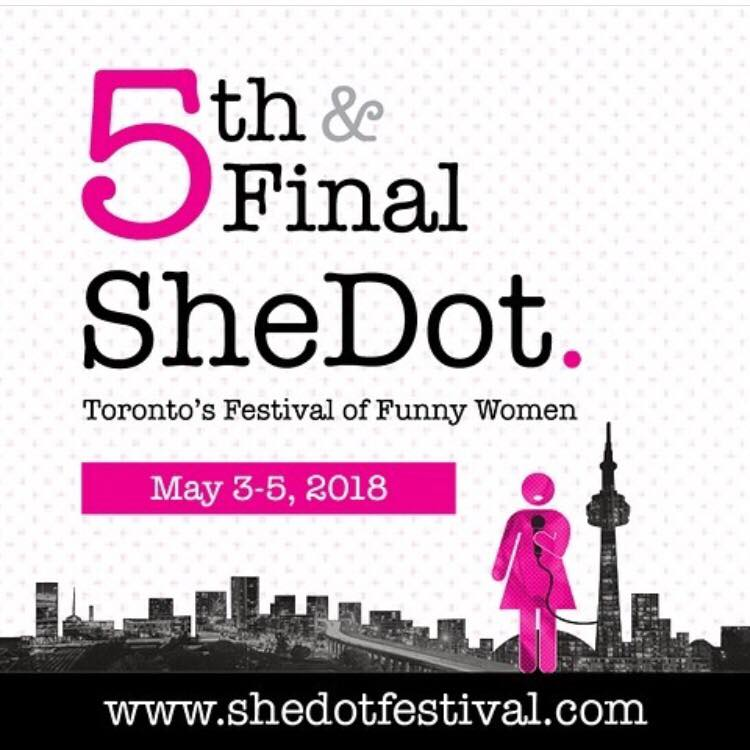 Cool Girls Screens at the SheDot Short Film Festival! - Cool Girls is selected for the 2018 SheDot Short Film Festival, screening in Toronto on Saturday, May 5th, at Comedy Bar.
