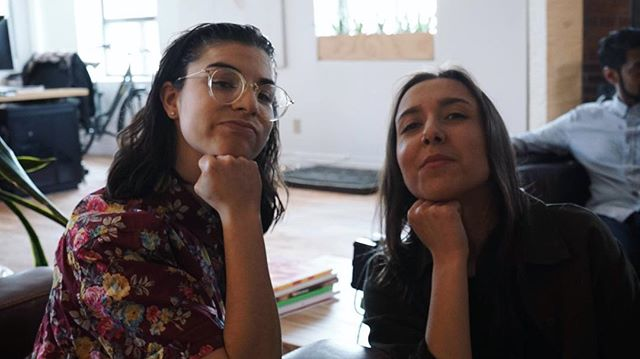 "Spotlight 💡 on the incredible DIYtho ✏️ crew part one: 📽 please allow us to introduce you to Ievy (Director, Producer) and Julia (Sound Engineer, Producer) . . Director🎥 @ievystamatov is a Comedian, Writer, Director, and Producer. As a stand-up, Ievy has been featured at JFL42 and Camp Wavelength. She is the Co-Founder, Producer, and former Host of Lemon Comedy: an international stand-up showcase celebrating diversity Comedy Central called ""timely, interesting, and noble,"" and a Co-Founder, Producer and Host of the award-winning Punch Up Comedy show ( @punchupcomedy ) in Toronto. . Julia 🎙 (@juliawtmn) is a sound engineer and occasional writer/ producer. She works in radio by day and plays in a rock band (@forjanetheband) by night. She is a graduate of the RTA: School of Media and owes both hands to her mentors at @victorysocialclub"