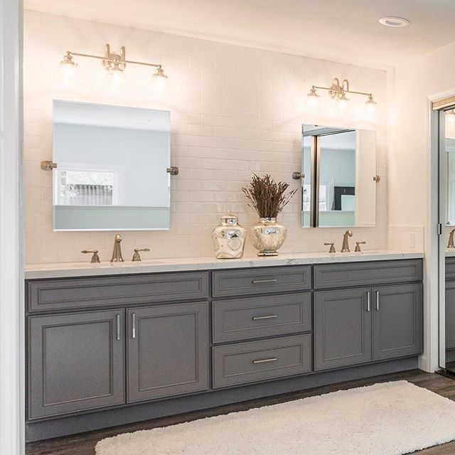 Remember when subway tile was out of style? We don't either. Such a classic, beautiful finish in this master bathroom! #luxuryrealestate #branaghrealty #realestate #bayarea #danvillerealestate