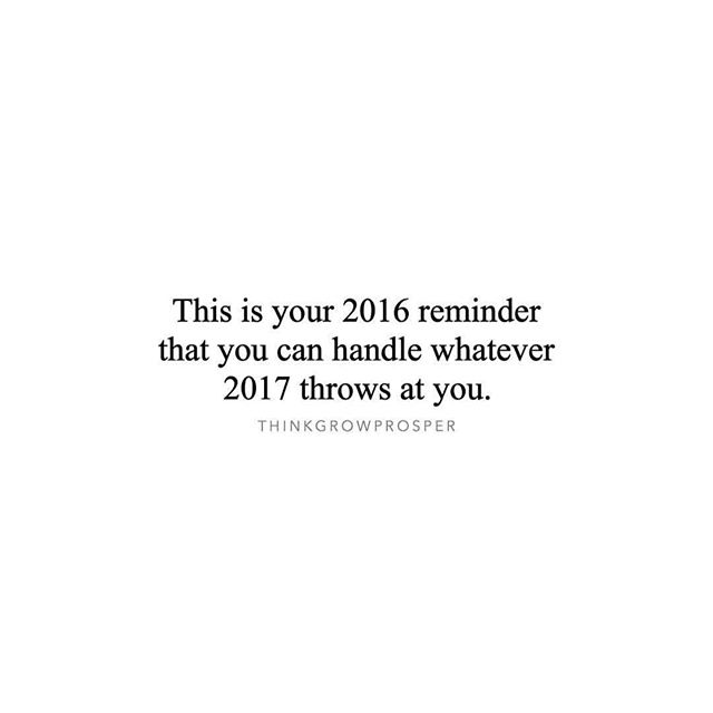 With that said... Who's ready for 2017?! #GetBodied