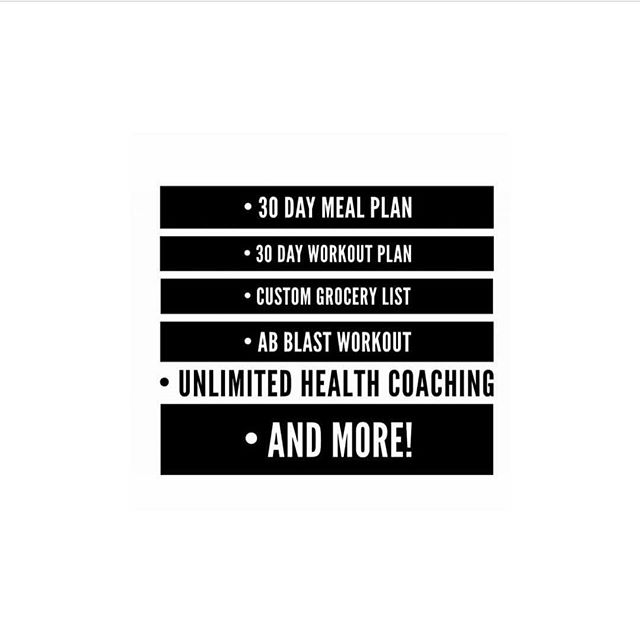 As 2017 approaches us, get a head start and jumpstart your health + fitness + weight loss goals today! Sign up for my #GetBodiedInThirty plan and receive unlimited health coaching [regardless where you reside], customized meal plan, grocery list, daily full body workouts, and more! ◾️ LINK IN BIO! ◾️ #GetBodiedFitness™