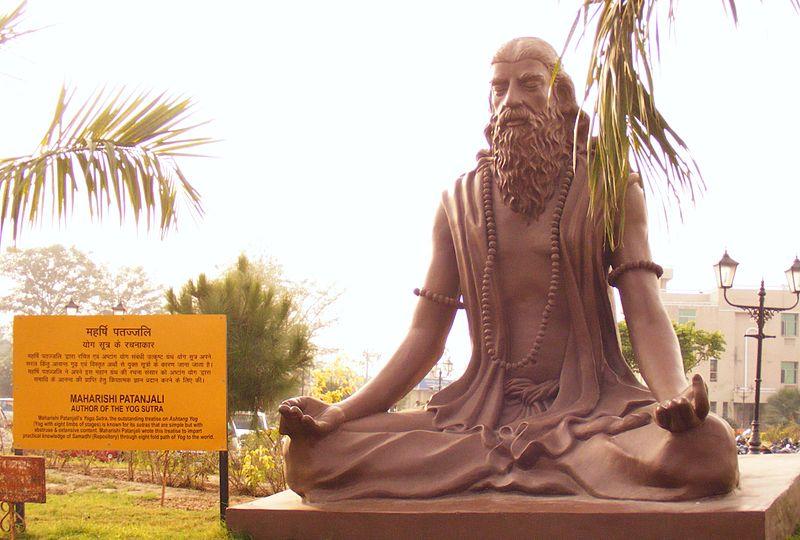 Patanjali statue in Haridwar Credit: Alokprasad,Wikimedia Commons