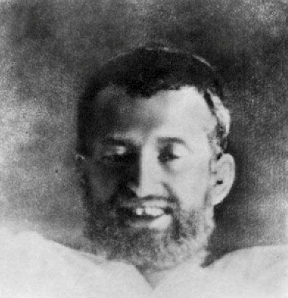 Ramakrishna Paramahamsa in samadhi