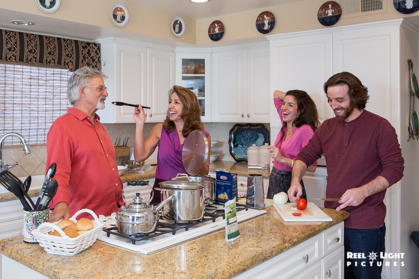 Glendale Hills Living Magazine shoot ~ Cistullis Family