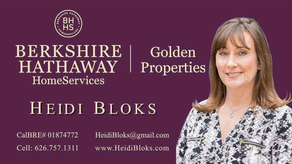 Berkshire Hathaway Agent Profile video ~ Heidi Bloks