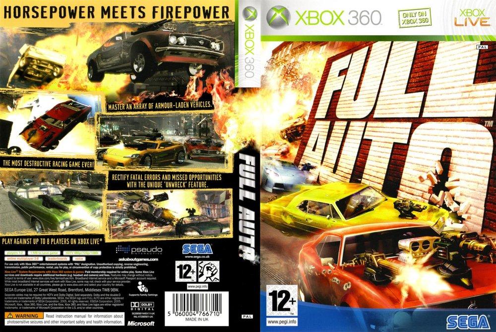 Sega's Full Auto: Original Score