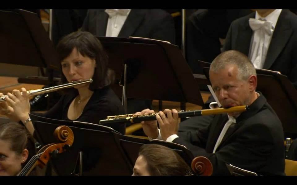 Flutist Michael Hasel of the Berlin Philharmonic Orchestra playing a custom made S. Kotel elongated Boxwood model