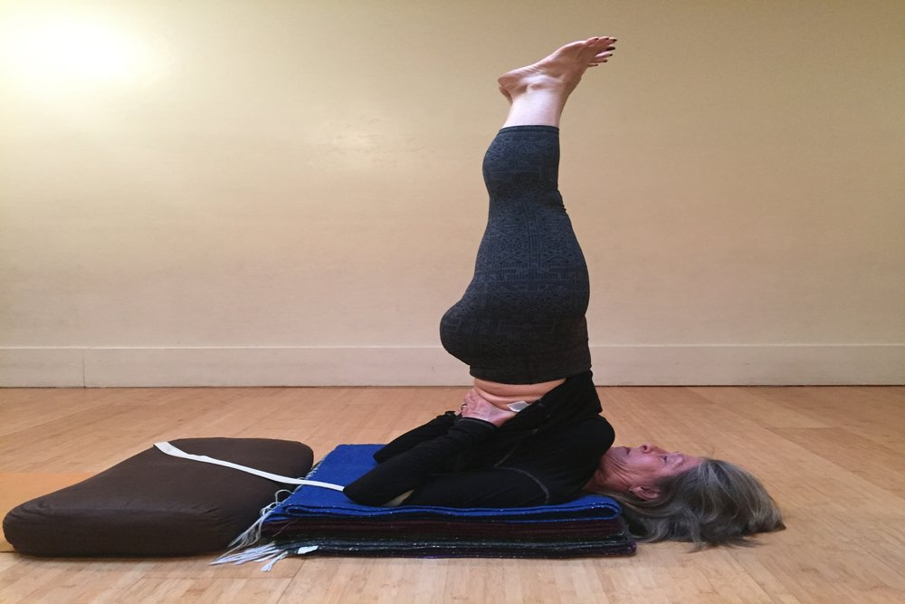 SALAMBA SARVANGASANA & CYCLE*    Breakout Session 1 with Sunny Keays   Students will learn the proper set up for shoulder stand for their needs and will learn the more intermediate poses within shoulder stand that are rarely taught.  All levels welcome.