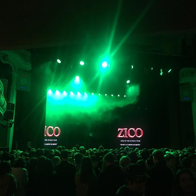 @woozico0914 's concert in London is starting soon! We can't wait! If you're here, send a DM to meet us! . . . #kpop #zico #music #concert #london #o2 #korea #cantwait #kingofthezungle