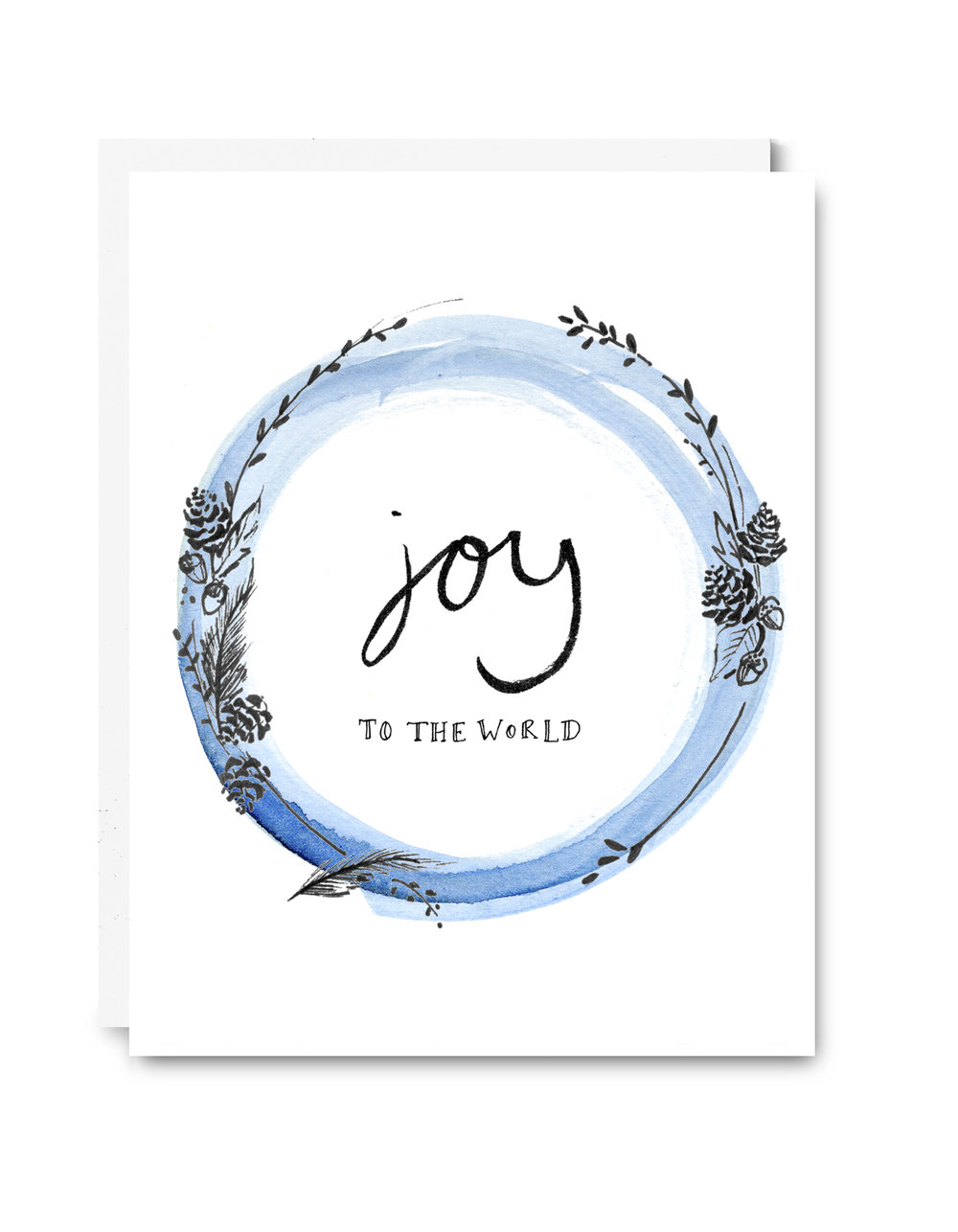 Joy to the World Card - $5.00