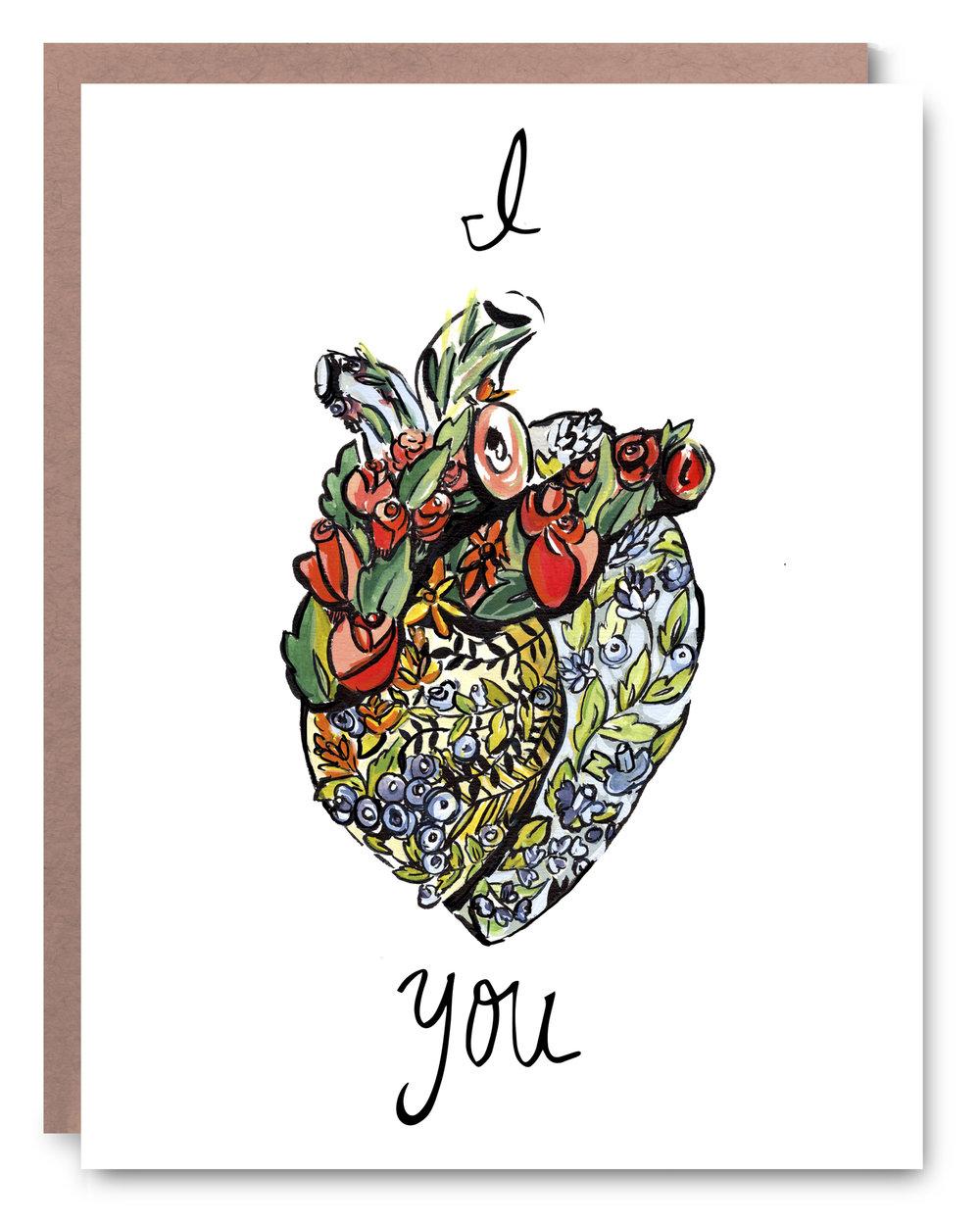 I Heart You - $5.00