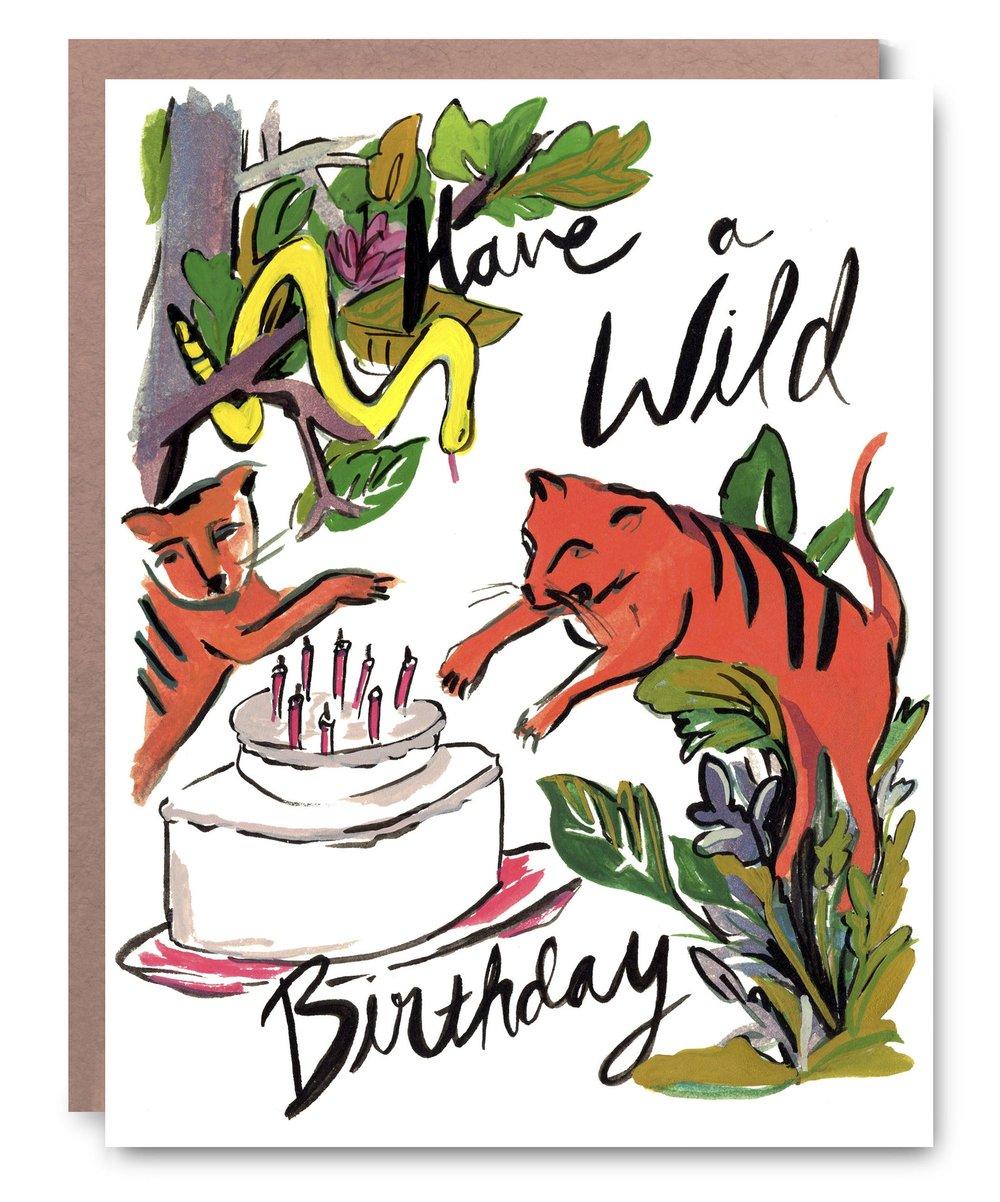 Wild Birthday - $5.00