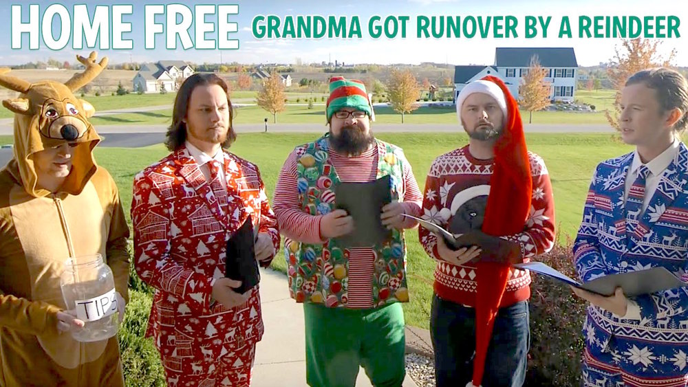 Grandma Got Run Over By a Reindeer DARREN RUST Produced/Recorded/Mixed