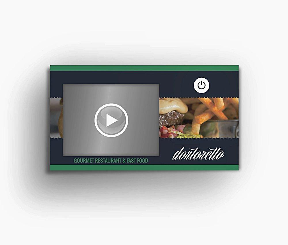 Printflix Print Plus Video Business Card With 24 Lcd Bundle