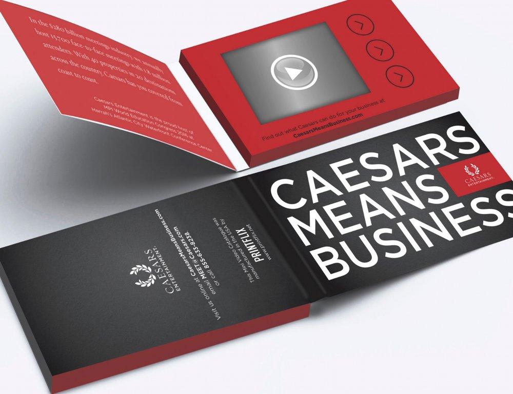 Printflix Print Plus Folded Video Business Card With 24 Lcd Bundle