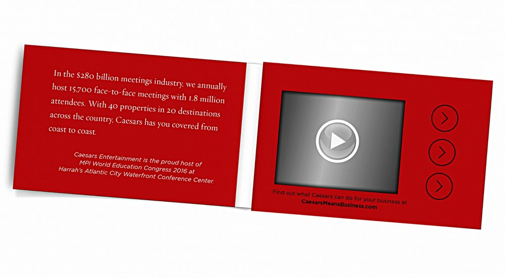 PRINTFLIX PRINT PLUS-FOLDED VIDEO BUSINESS CARD WITH 2.4\