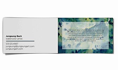 Printflix Print Plus Folded Business Card Bundle