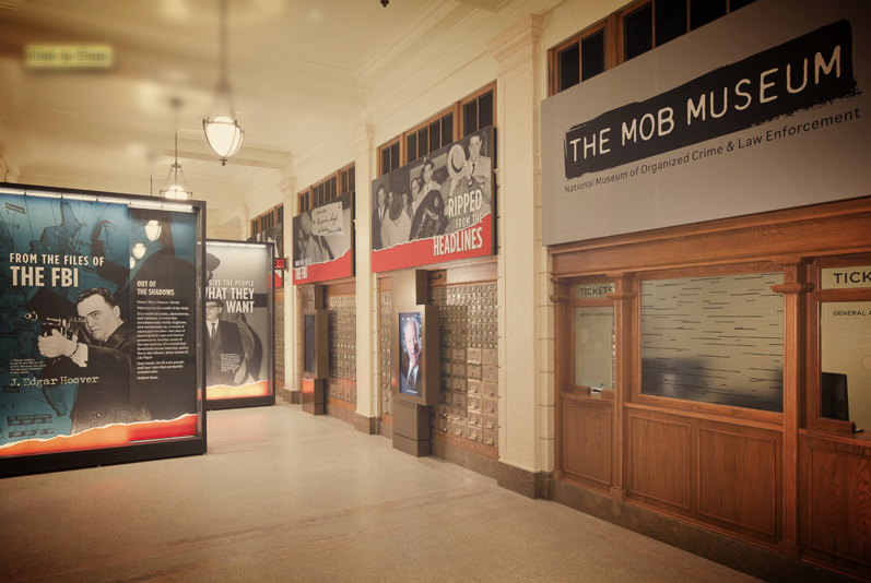 THE MOB MUSEUM VIDEO BOOK  - A Virtual Tour Through The Museum