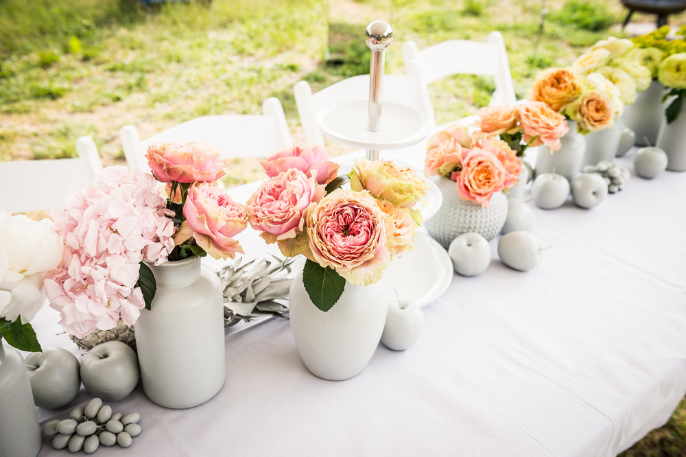 Flower Styling Long Table