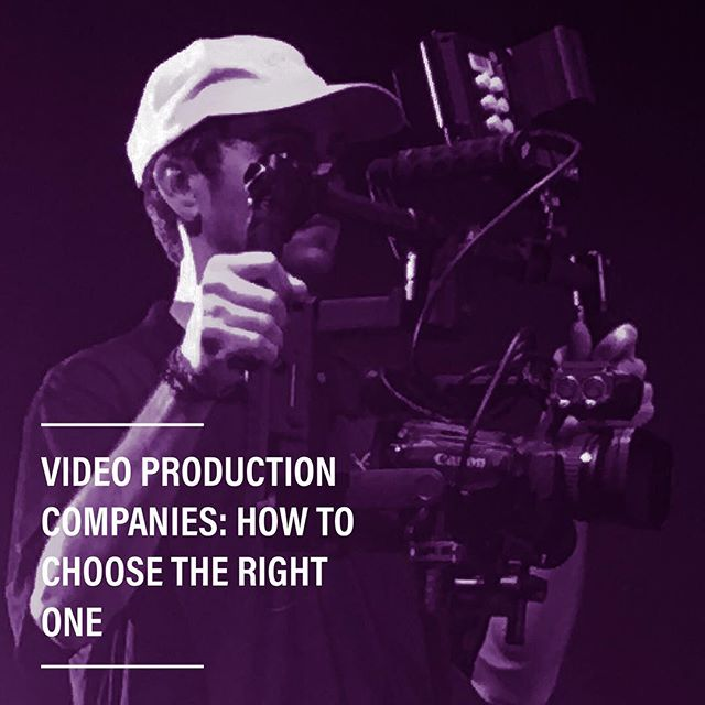 Video Production Companies: How to Choose the Right One - Blog link in bio