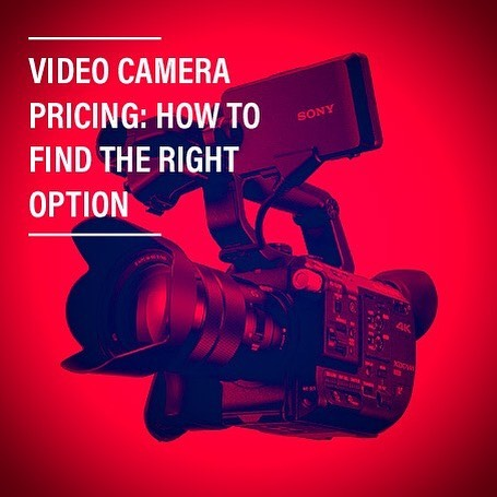 Video Camera Pricing: How to Find the Right Option - Blog link in bio