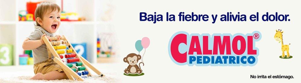 Banner Calmol Pedíatrico