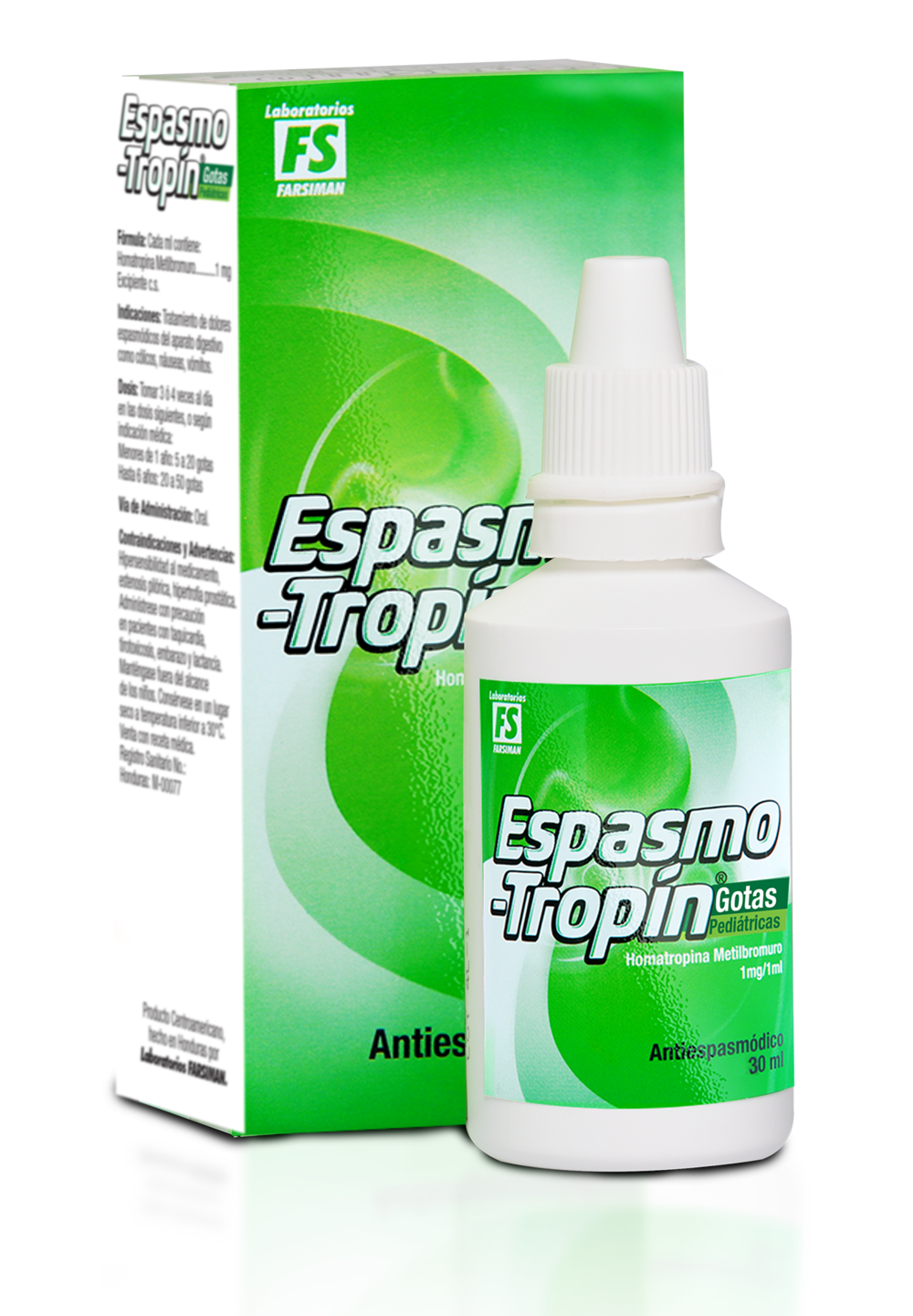 Espasmo-Tropín Gotas