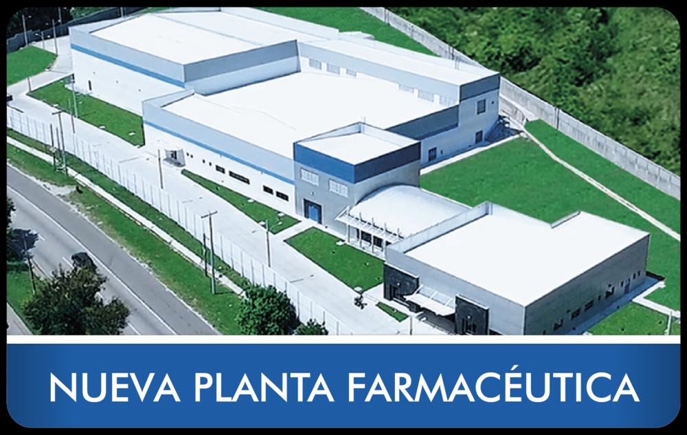 Nueva Planta Farmacéutica Laboratorios Farsimán