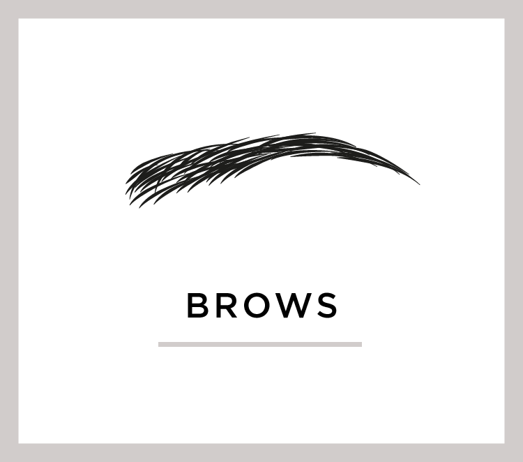 There's no doubt about it: brows are totally The Thing right now. We can shape and tint yours to frame your beautiful face.