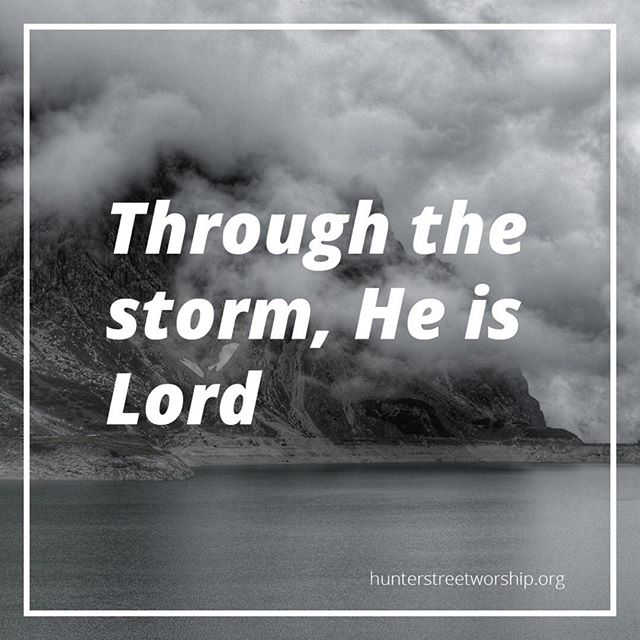 Christ alone, cornerstone Weak made strong in the Savior's love Through the storm, He is Lord Lord of all  We will declare our allegiance to King Jesus with this song Sunday morning @hunterstreetbaptistchurch. Prepare for worship at hunterstreetworship.org #cornerstone