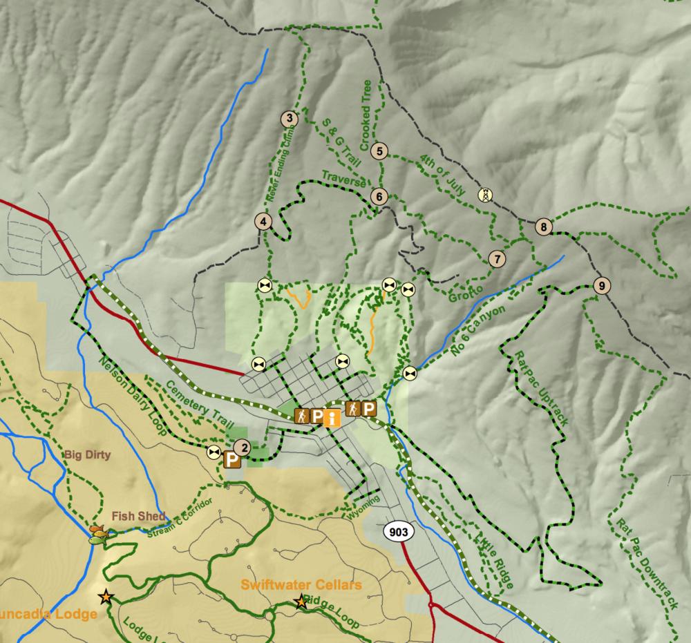Roslyn Trails Alliance Map 2015