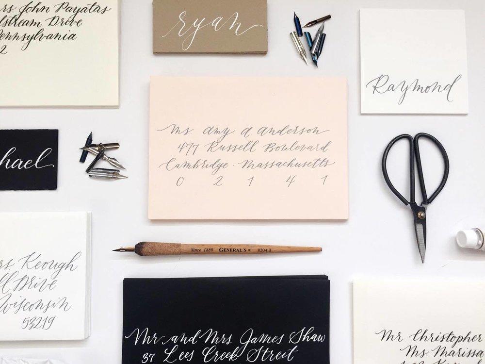 Design House Prep School | Student Showcase | Caitlin Jane Calligraphy