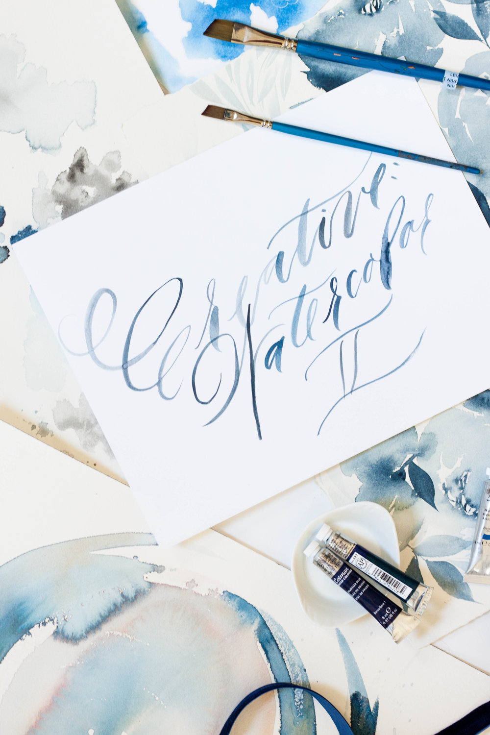 Design House Prep School | A School for Creatives | Watercolor