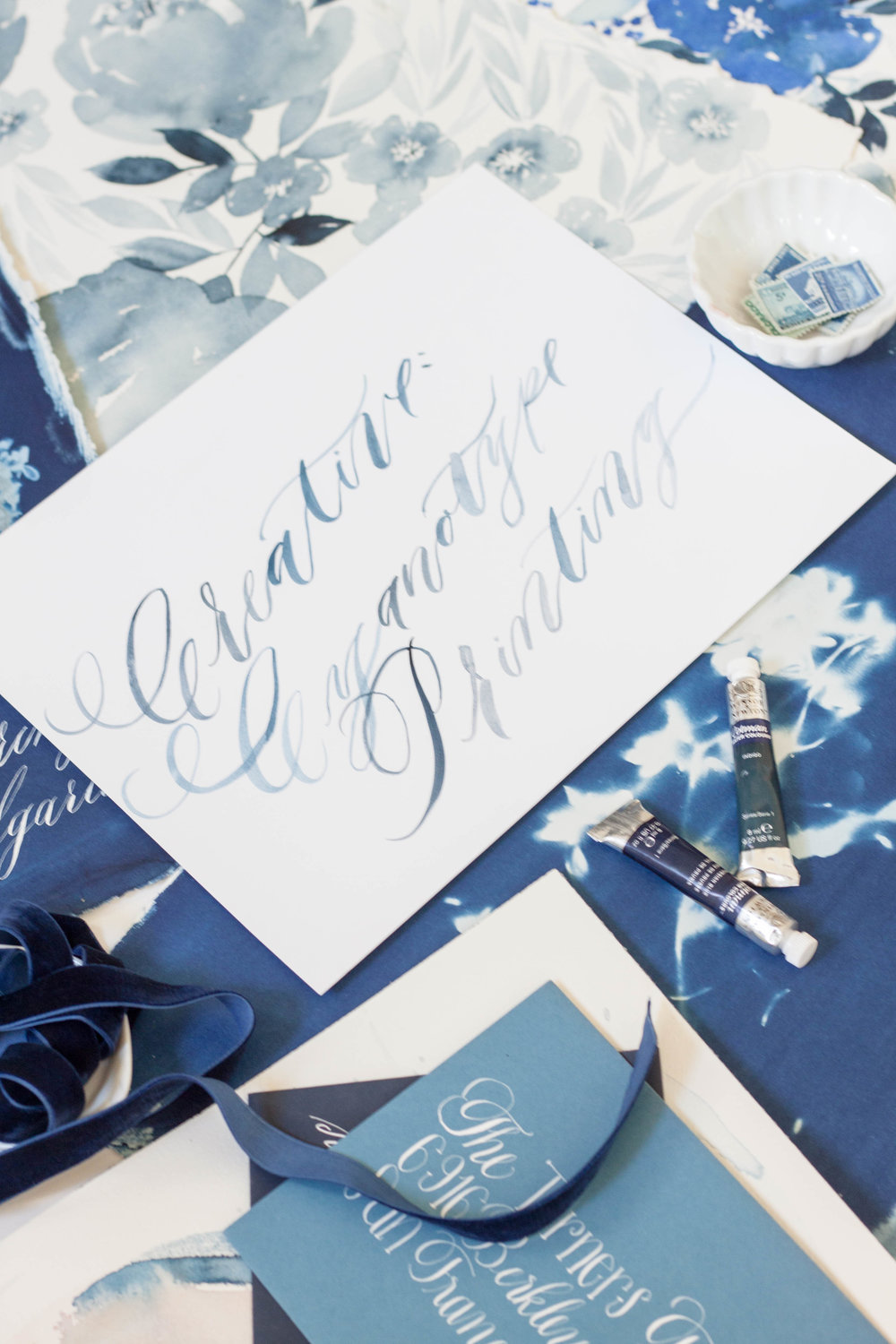 Design House Prep School | A School for Creatives | Cyanotype Botanicals