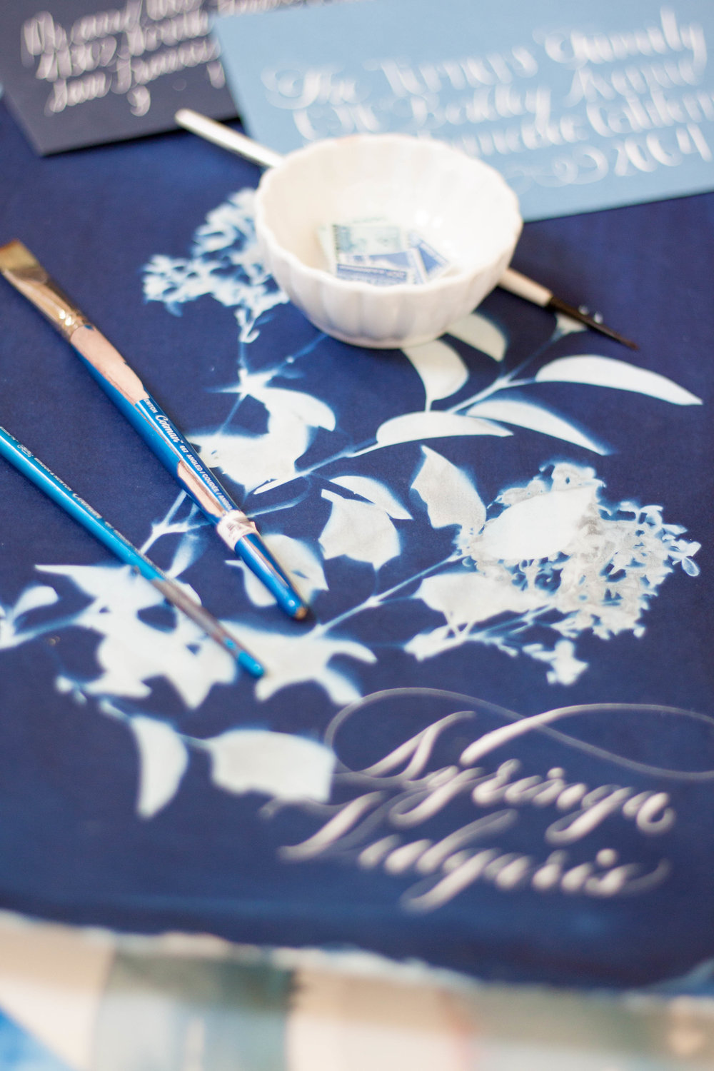 Design House Prep School | Creative Workshops | Cyanotype